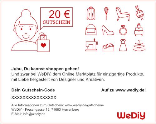 WeDiY Gutschein 20€